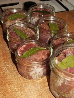 Roti de porc en conserve