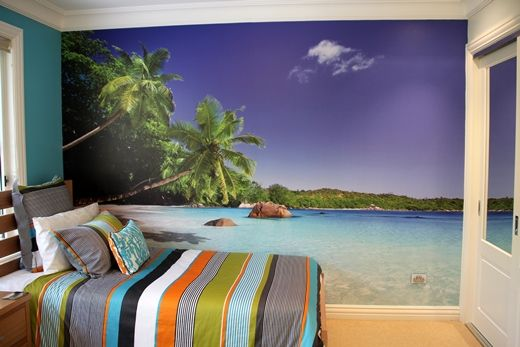 Phil and Louise recently installed this wall mural in their son's bedroom in NSW. He loved it so much, he now cleans his room to show it off to it's full potential!