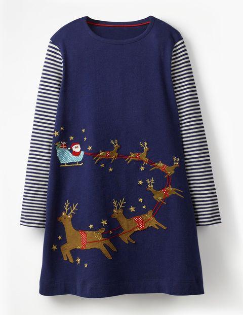 33f327856f8a Festive Big Appliqué Dress