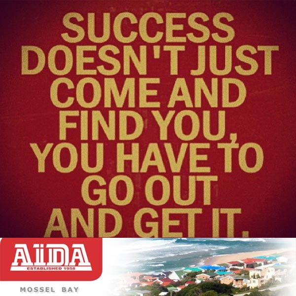 Inspirational quote. Go and get your success. #quote #success #inspire