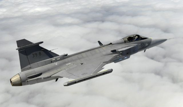 """Saab's Gripen E remains on track for delivery to the Swedish and Brazilian air forces from 2019, with the Swedish company's first prototype having recently passed a significant performance milestone. Aircraft 39-8 was flown at supersonic speed for the first time on 18 October, with test pilot Marcus Wandt describing its performance as """"very smooth"""" during a sortie flown over the Baltic Sea. """"The aircraft sustained supersonic speed for a number of minutes, whilst carrying out manoeuvres,"""""""