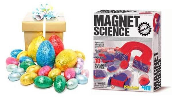 The 84 best easter gift ideas images on pinterest easter gift a great easter present for kids including an assortment of quality chocolate eggs and magnet science kit beautifully gift wrapped and delivered anywhere in negle Choice Image