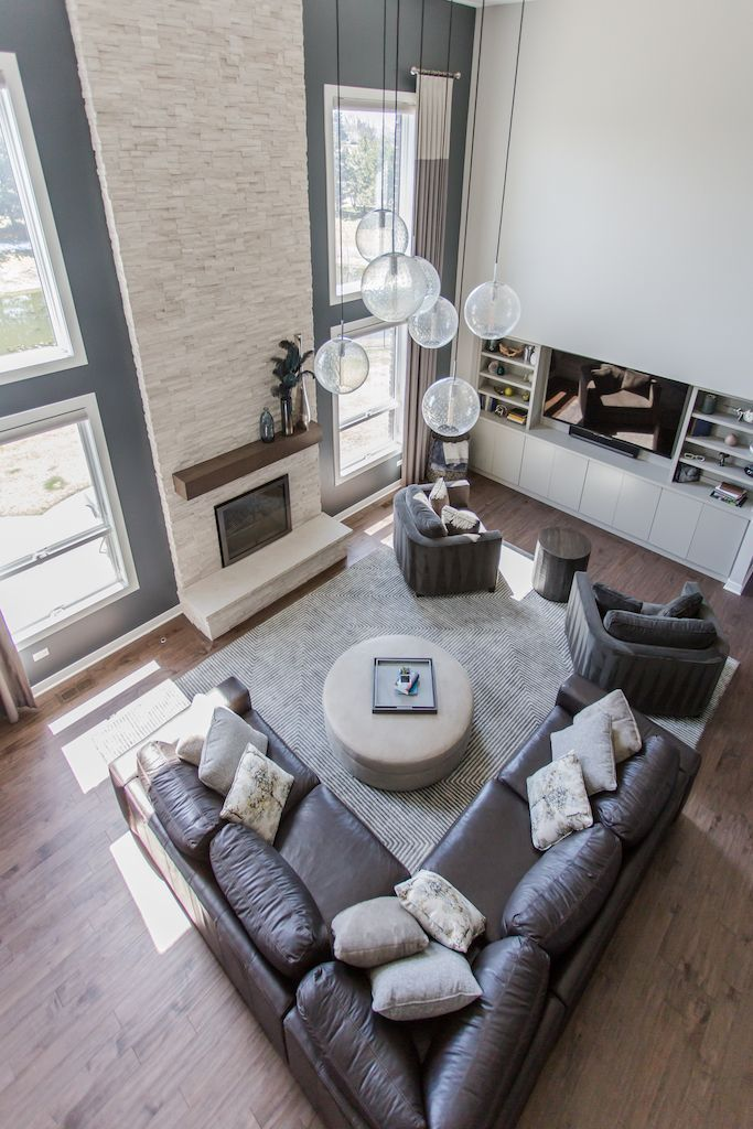 15 Stunning Floor To Ceiling Windows Ideas Ceiling Floor Ideas Stunning Windows In 2020 Floor To Ceiling Windows Family Room Design Family Room