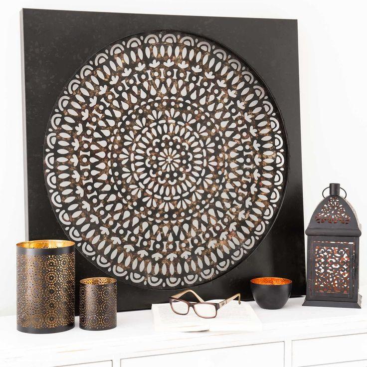 les 25 meilleures id es de la cat gorie deco murale metal sur pinterest deco maison du monde. Black Bedroom Furniture Sets. Home Design Ideas