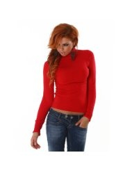 Pullover mit Rollkragen langärmelig, verschiedene Farben
