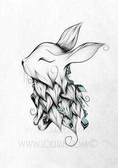 Cute bunny tat                                                                                                                                                                                 More
