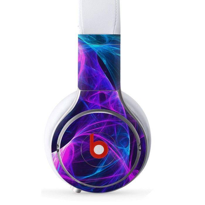 Kaleidoscope Shape decal for Monster Beats Pro wireless headphones