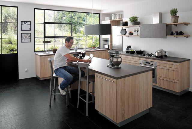 tendance cuisine 2018 am nagement et d co cuisine pinterest c t maison les tendances. Black Bedroom Furniture Sets. Home Design Ideas