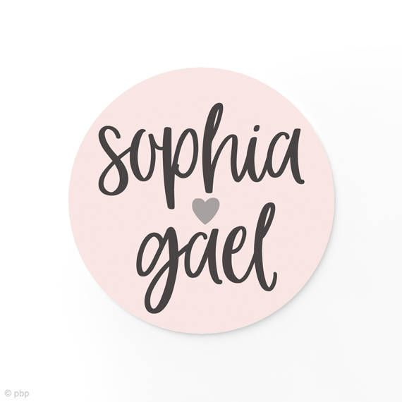 Wedding Names Sticker feature a modern style and are great for putting in candy bags or jars for party favors. Can be customized for any wording.