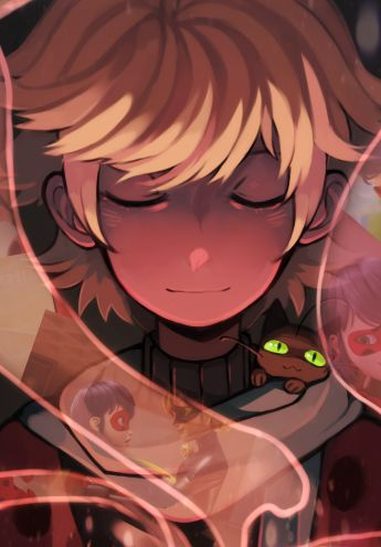 Final preview of my @a-little-light-zine piece! Pre-order giveaway ends today!