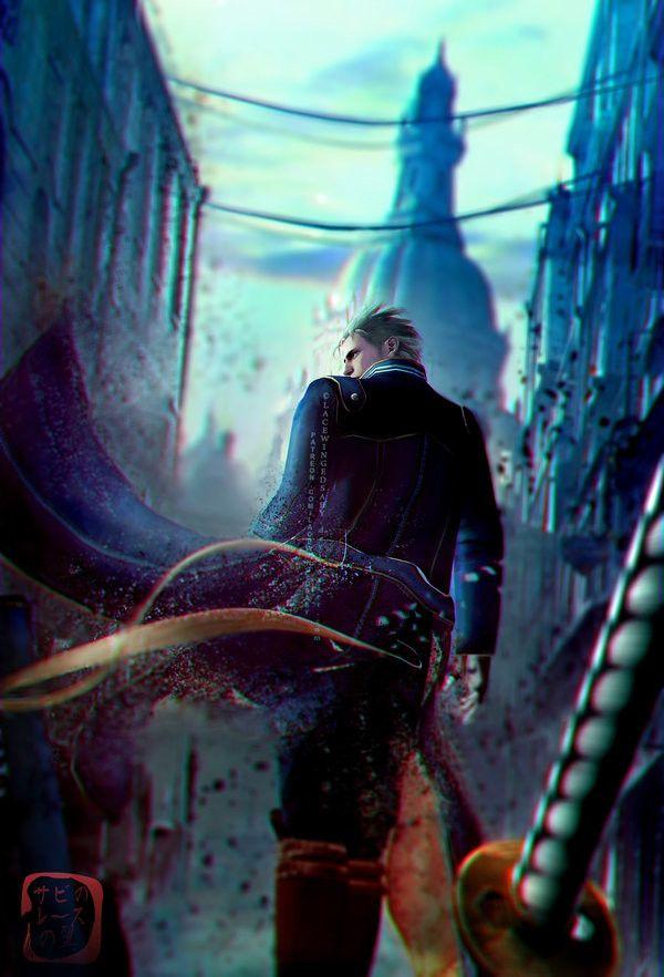 Devil May..., LaceWingedSaby サビのレースの翼 on ArtStation at https://www.artstation.com/artwork/zzedm