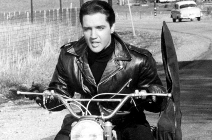 Elvis Presley portraying The Image in 1955.