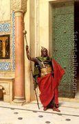 A Nubian Guard  by Ludwig Deutsch