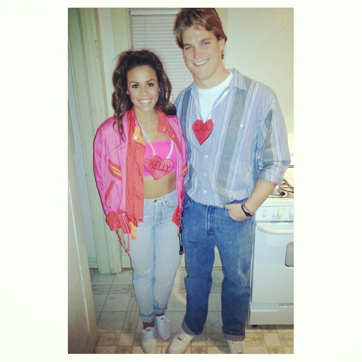 saved by the bell zack and kelly halloween costumes savedbythebell - Saved By The Bell Halloween Costume