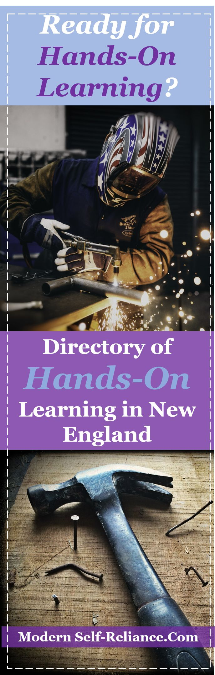 Ready to learn hands-on skills? Search our directory of New England small town a…