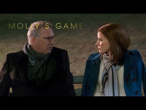 "Molly's Game | ""Rags to Riches"" TV Commercial -- Starring Jessica Chastain, Idris Elba, Kevin Costner, Chris O'Dowd, Michael Cera, Joe Keery, Rachel Skarsten, Graham Greene and Brian d'Arcy James. 