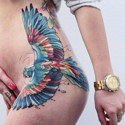 1000 ideen zu papagei tattoo auf pinterest haustier tattoos wasserfarbent towierungen und. Black Bedroom Furniture Sets. Home Design Ideas