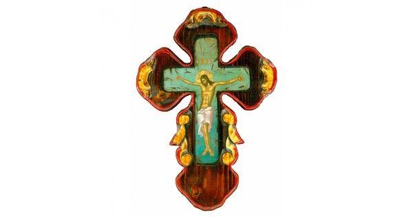 ΞΥΛΙΝΟΣ ΣΤΑΥΡΟΣ ΣΕ ΣΤΟΚΑΡΙΣΜΕΝΟ ΠΑΝΙ ΑΓΙΟΓΡΑΦΙΑΣ Μ59Χειροποίητος ξύλινος Σταυρός με τον Εσταυρωμένο σε πεπαλαιωμένο στοκαρισμένο πανί αγιογραφίας.Είναι φιλοτεχνημένος σε μασίφ ξύλο λαξευμένο στο χέρι.Μπορεί να κρεμαστεί πάνω σε τοίχο ή να τοποθετηθεί σε επίπεδη επιφάνεια.Διαστάσεις: 40x28 εκατοστά