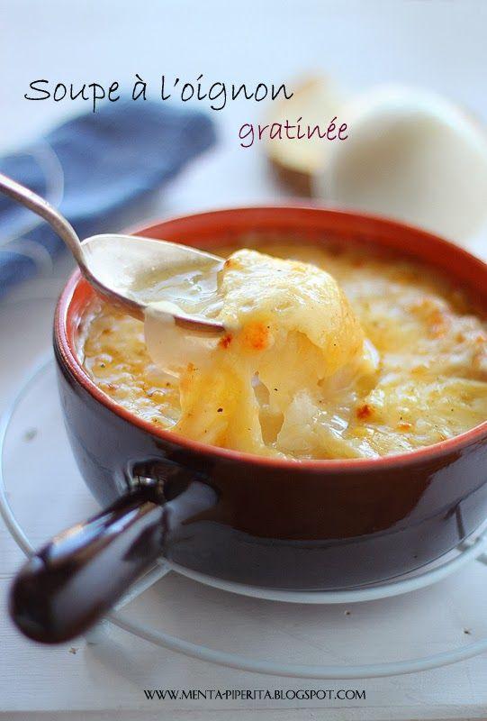 Soupe à l'oignon gratinee