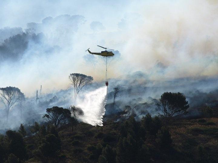 Cape Town Fire - Mark Marais