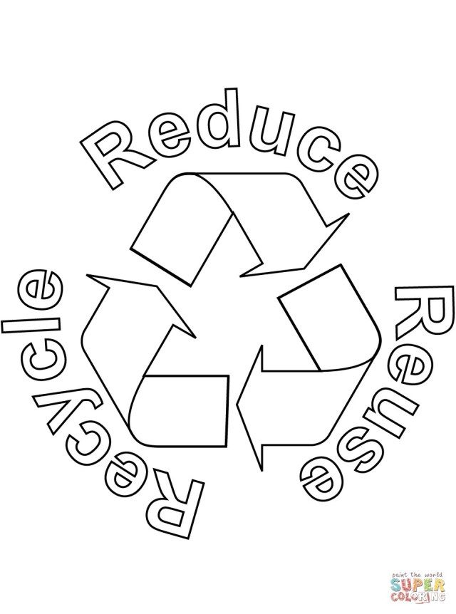 Beautiful Photo Of Recycling Coloring Pages Birijus Com Reduce Reuse Recycle Activities Reuse Recycle Recycle Symbol