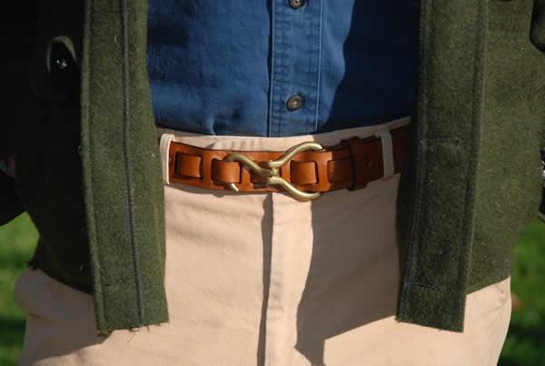brass hoof pick belt