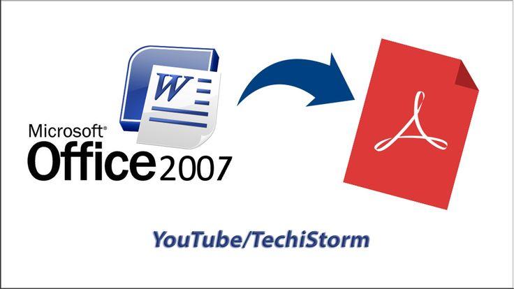 How To Convert Word 2007 documents to PDF   Bangla Tutorial: https://youtu.be/XZKYNq4gKt4  #techistorm #howto #convert #converter #msoffice #word #documents #to #pdf #xps #file #word2007 #ms2007 #bangla #tutorial #youtube #video #edit #editor #addins #free #offline #online #microsoft #office #windows10 #OS #pdfreader