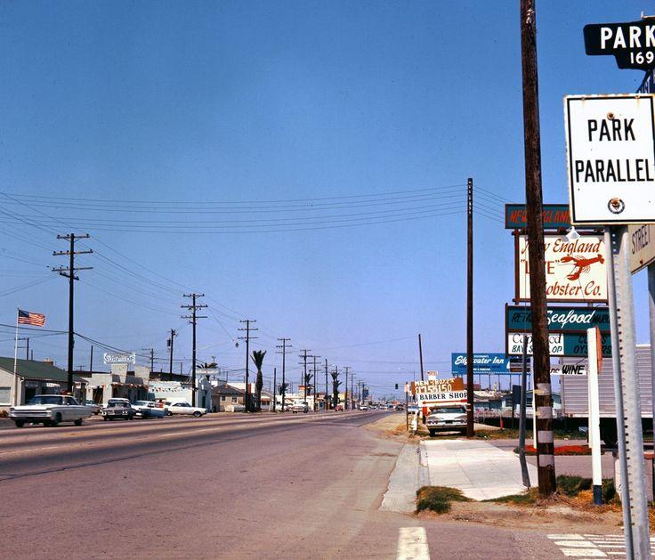 Street Scene, Huntington Beach, Los Angeles, 1966