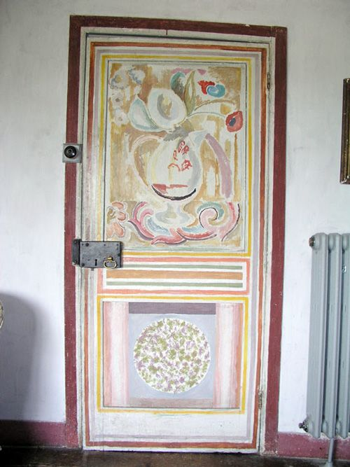 Painted Door at Charleston