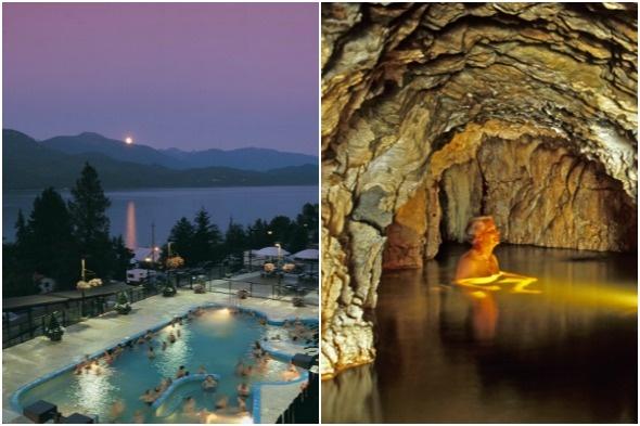 Ainsworth Hot Springs, The Kootenays, British Columbia, Canada