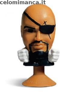 Megapopz Avengers: Fronte Figurina n. 18 Nick Fury