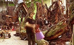 *decorates Hobbit set fabulously*
