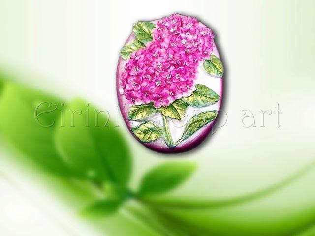 Hydrangea 1 soap