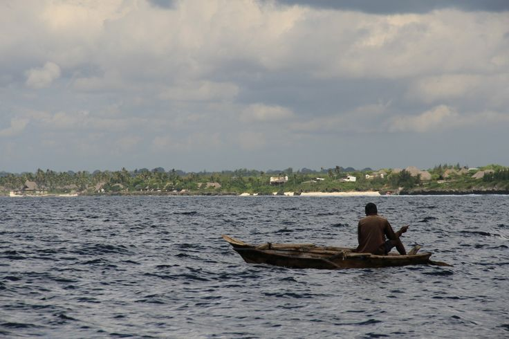 Local fisherman, Matemwe