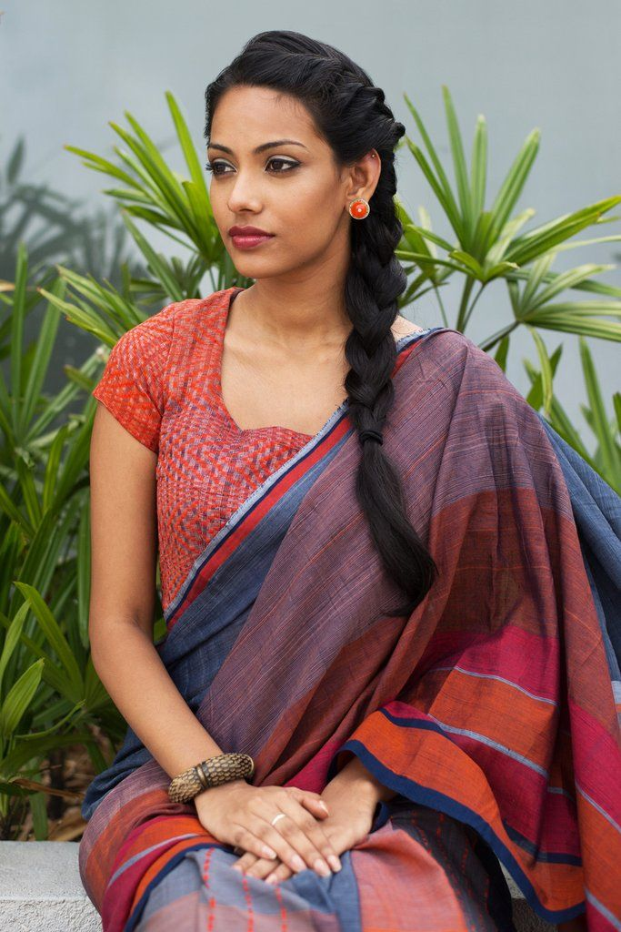 Flame Fin Saree from FashionMarket.lk
