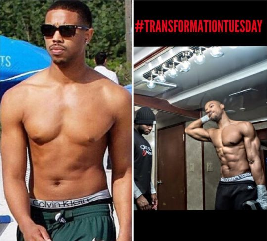 Here's the diet Michael B. Jordan ate to get ridiculously ripped for 'Creed'