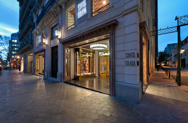 Santa Eulalia clothing - Barcelona, Spain