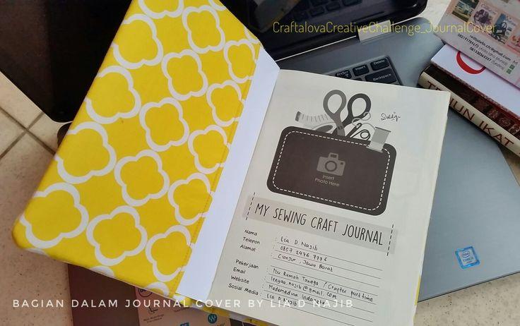 Journal cover part inside