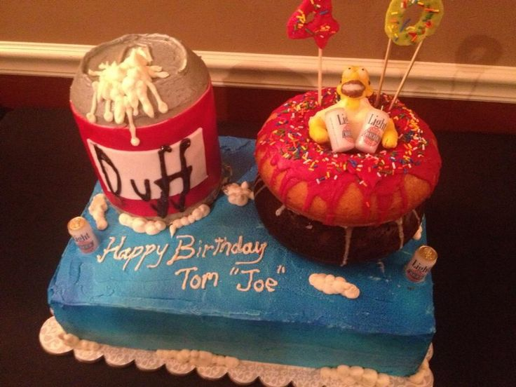 The Simpsons Cake Ideas