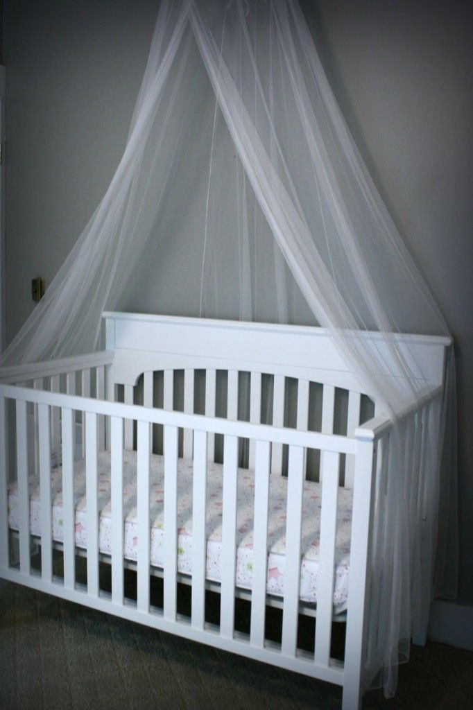 Best 25 canopy over crib ideas on pinterest cute room for Diy canopy over crib