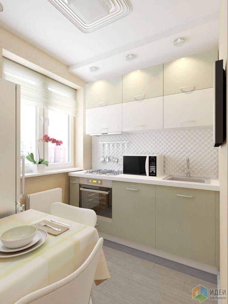 Фотографии [234016]: Небольшая квартира в 5-этажном кирпичном доме, г.Москва от дизайнера Анастасия Перепеличенко