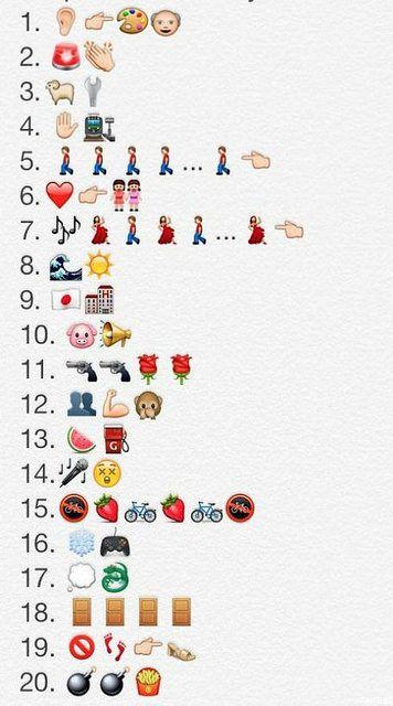 Grupos de Musica con los emoticonos del whatsapp #whatsapp #grupo #musica #funny #emoticono #emoji