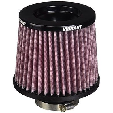 Vibrant 10921 Performance Air Filter, Clear