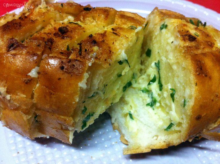 Pão de Alho para churrasco - Comidinhas da Patroa