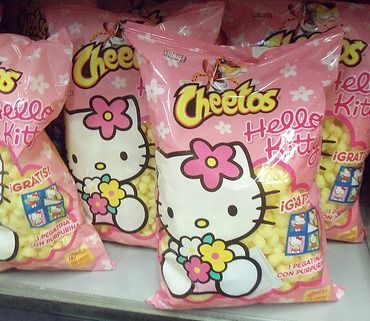 Who needs Chester, when you have Hello Kitty?!?