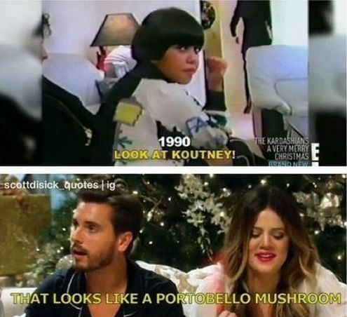 When he made this observation. | 32 Times Scott Disick Gave Zero F*cks