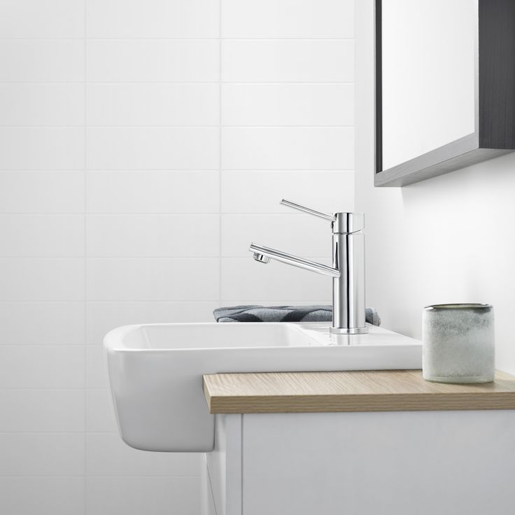 Dorf Villa Basin Mixer #dorf #dorfstyle #mixertap #bathroom #tap #design #styling #decor #home #inspo #basin #nordic #scandinavian #relaxed #caroma