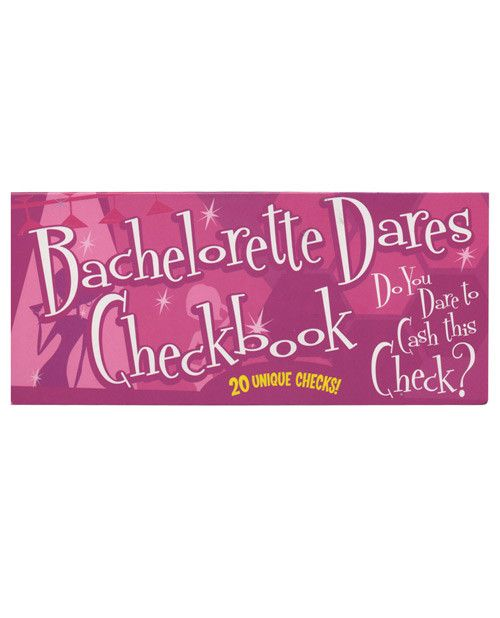 Bachelorette Dares Checkbook, Fun & Games  #Bachelorette #BacheloretteParty #Party #Ideas #Gifts #gettingmarried #PlayingNaughty #SexToys #PartyFavors #funandgames #fun #games #Bride
