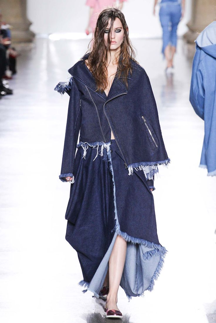 Marques'Almeida The Jean Genies: 16 Denim Looks to Love From the Fall Runway - Gallery - Style.com