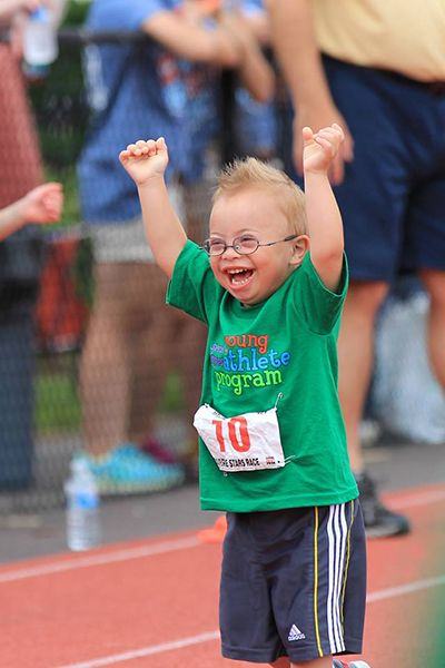 A collaborative effort between Rutgers and the Special Olympics helps young athletes achieve their dreams